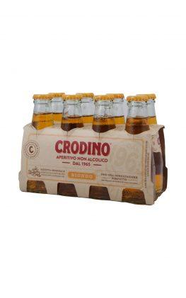 Crodino gelb 8er Pack Aperitivo non alcoolico