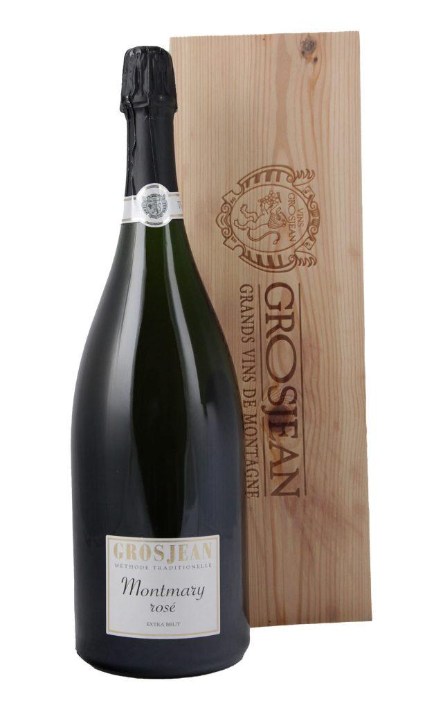 Montmary Rose Extra Brut agnum inkl Holzkiste